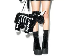 Load image into Gallery viewer, Goth Unicorn Handbag- [variant_title]
