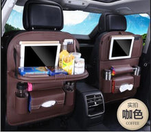 Load image into Gallery viewer, Foldable Car Backseat Organizer- Coffee