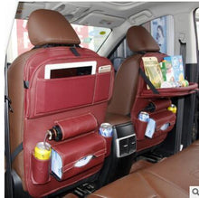 Load image into Gallery viewer, Foldable Car Backseat Organizer- Red
