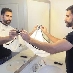 Beard Bib | Hair Clippings Catcher | Beard Shaving Bib- [variant_title]