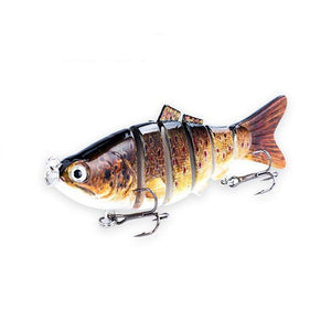 Fishing Lure | Colorful Lifelike 6 Segments Jointed Swimbait- 5ED75-1