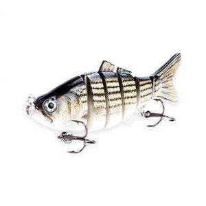 Fishing Lure | Colorful Lifelike 6 Segments Jointed Swimbait- 5ED75-2