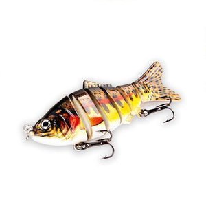 Fishing Lure | Colorful Lifelike 6 Segments Jointed Swimbait- 5ED75-3