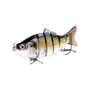 Fishing Lure | Colorful Lifelike 6 Segments Jointed Swimbait- 5ED75-4