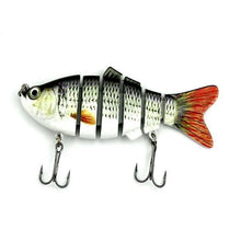 Load image into Gallery viewer, Fishing Lure | Colorful Lifelike 6 Segments Jointed Swimbait- 5ED75-6