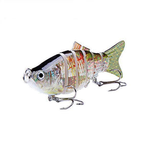 Fishing Lure | Colorful Lifelike 6 Segments Jointed Swimbait- N01