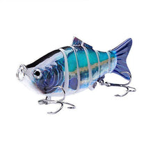 Load image into Gallery viewer, Fishing Lure | Colorful Lifelike 6 Segments Jointed Swimbait- N03
