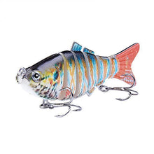 Load image into Gallery viewer, Fishing Lure | Colorful Lifelike 6 Segments Jointed Swimbait- N04