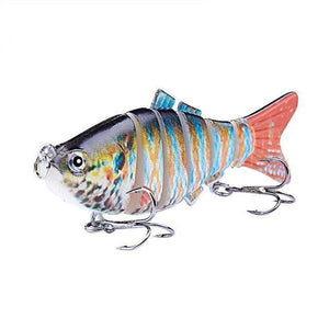 Fishing Lure | Colorful Lifelike 6 Segments Jointed Swimbait- N04
