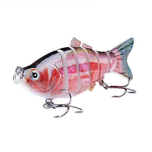 Fishing Lure | Colorful Lifelike 6 Segments Jointed Swimbait- N05
