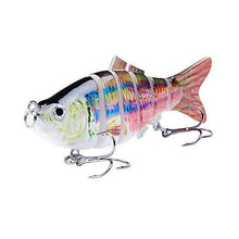 Load image into Gallery viewer, Fishing Lure | Colorful Lifelike 6 Segments Jointed Swimbait- N07