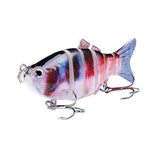 Fishing Lure | Colorful Lifelike 6 Segments Jointed Swimbait- N08