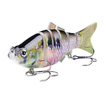 Load image into Gallery viewer, Fishing Lure | Colorful Lifelike 6 Segments Jointed Swimbait- N09