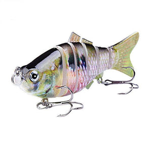 Fishing Lure | Colorful Lifelike 6 Segments Jointed Swimbait- N09
