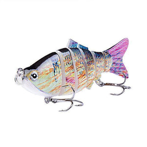 Fishing Lure | Colorful Lifelike 6 Segments Jointed Swimbait- N10