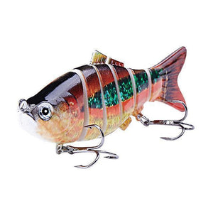 Fishing Lure | Colorful Lifelike 6 Segments Jointed Swimbait- N11