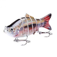 Load image into Gallery viewer, Fishing Lure | Colorful Lifelike 6 Segments Jointed Swimbait- N13