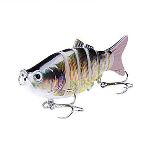 Fishing Lure | Colorful Lifelike 6 Segments Jointed Swimbait- N16