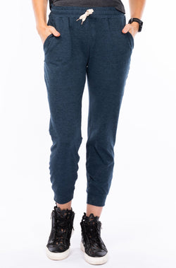 women's limitless jogger - indigo heather