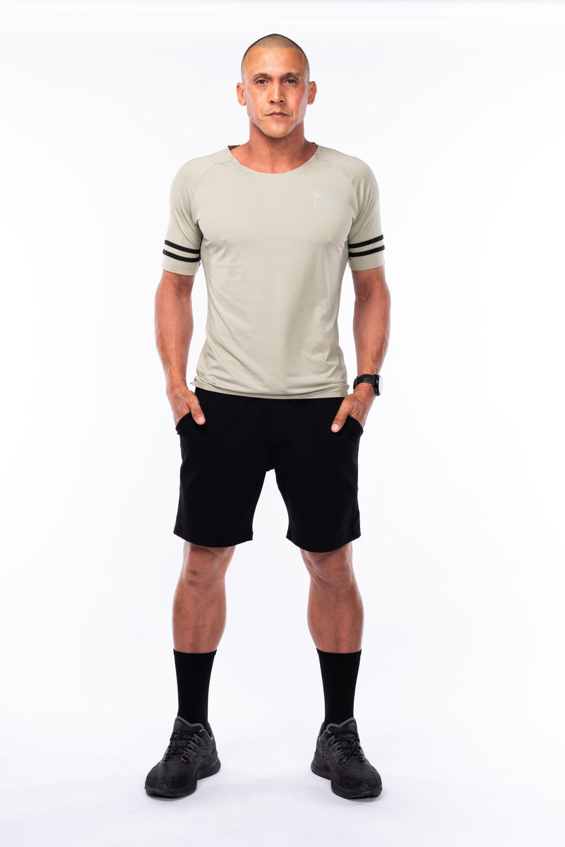 men's limitless jogger short - black