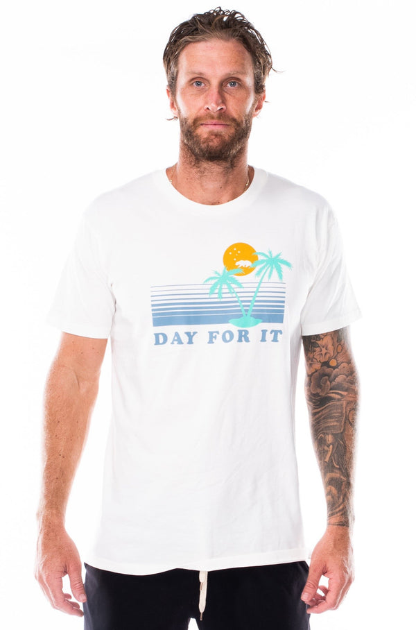 day for it tee - natural