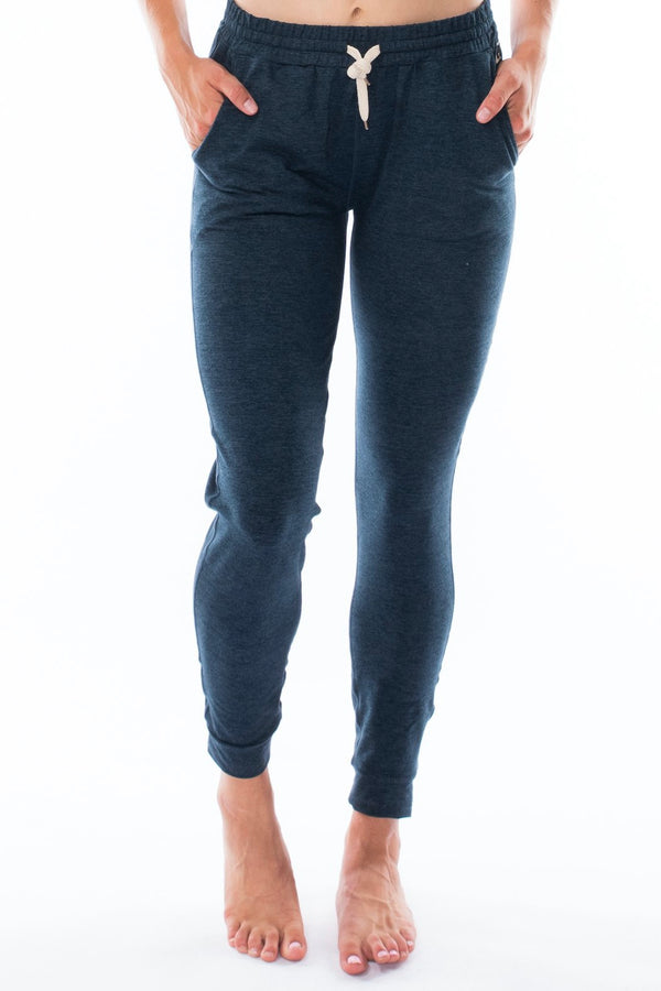 "Women's limitless jogger 28"" - Indigo heather"