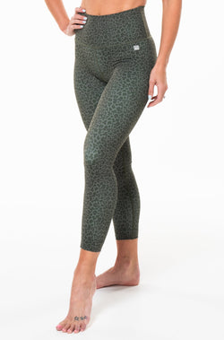 MALO on the run 7/8 tights - panther