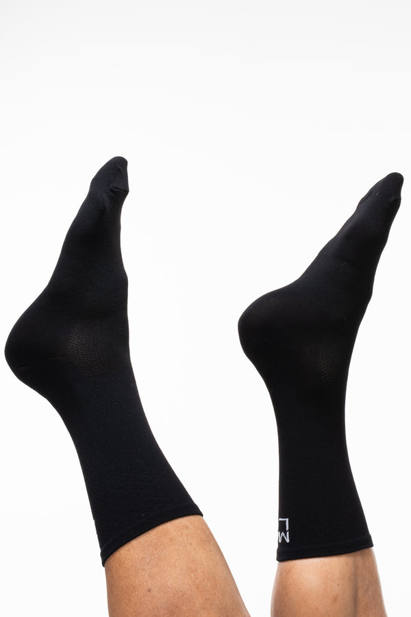 MALO signature sock - black