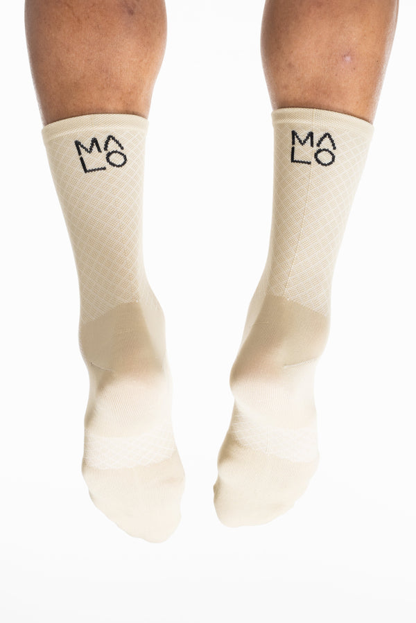 MALO signature sock - tan