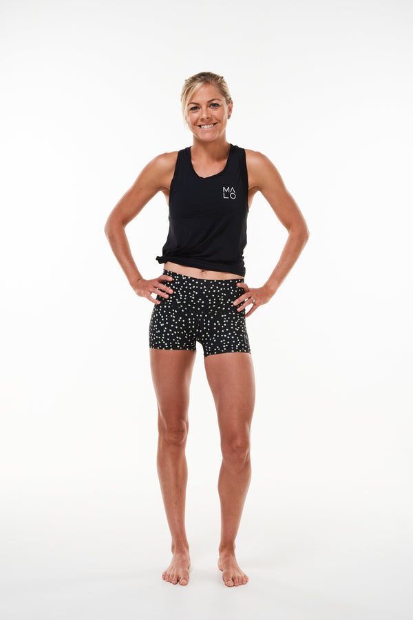 MALO PR shorts - black bloom