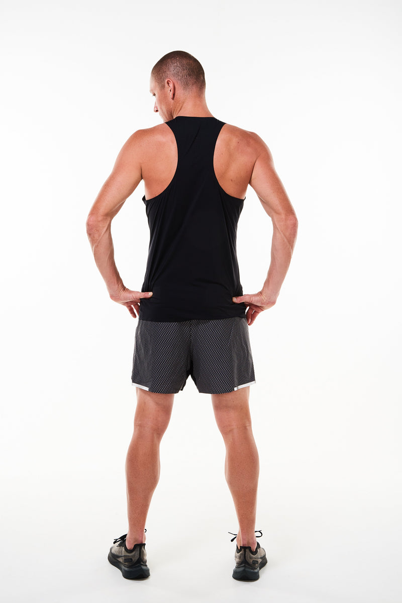 MALO edge performance tank - black