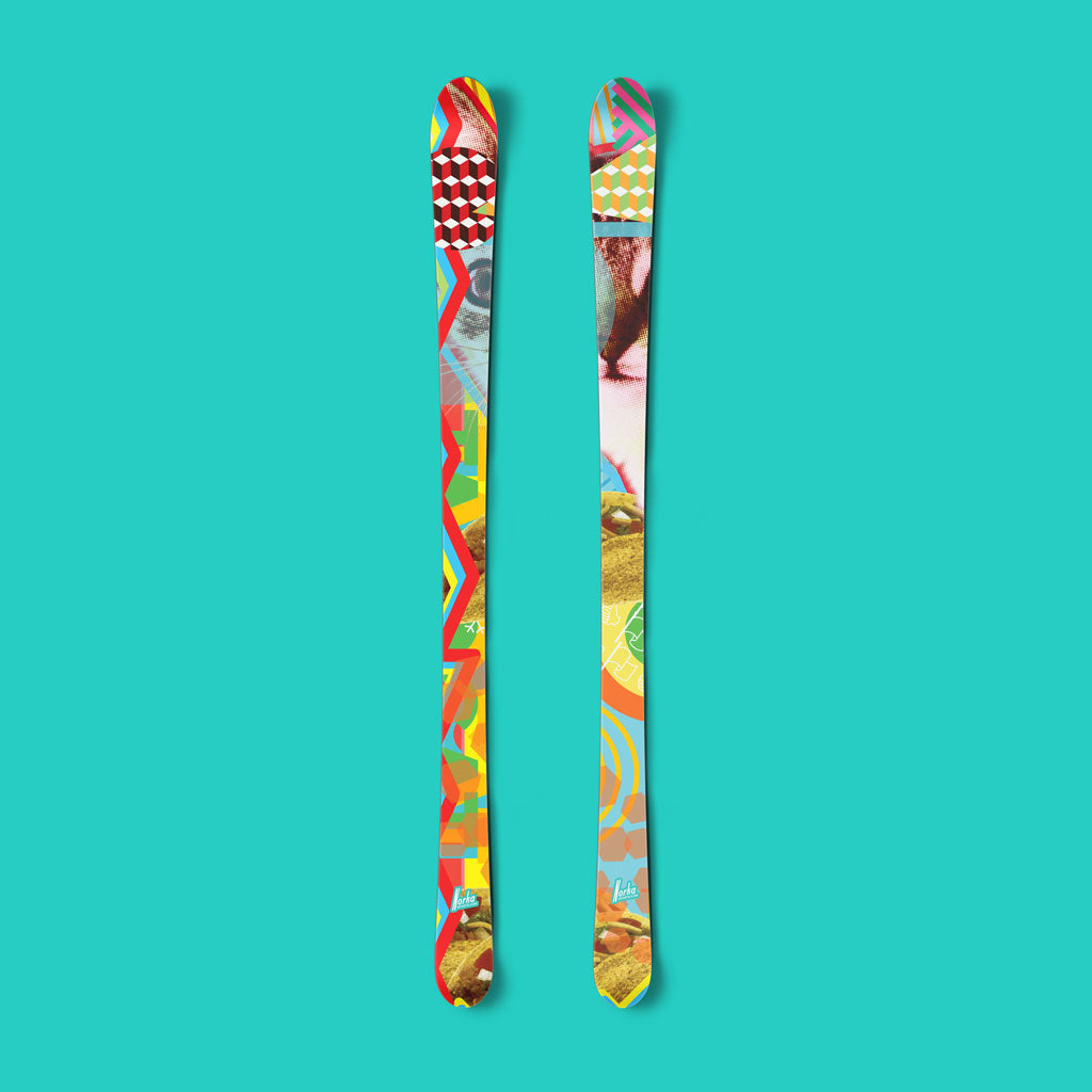 Taco caT vinyl ski wrap - Norka Sports