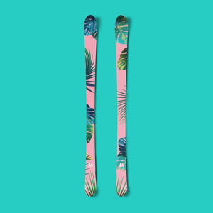 Tropical vinyl ski wrap - Norka Sports