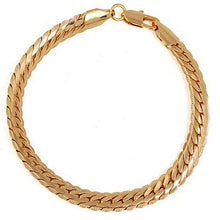Load image into Gallery viewer, Women's Gold Plated Bracelets with Lobster Clasp Fashion Stylish Jewelry Charms