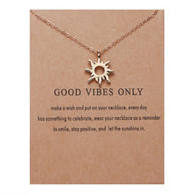 Load image into Gallery viewer, Good Vibes Only Necklaces
