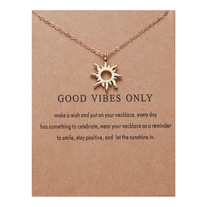 Good Vibes Only Necklaces