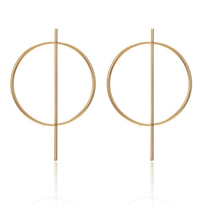 Circle Rod Earrings