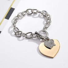 Load image into Gallery viewer, Love Heart Charm Bracelets