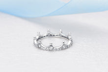 Load image into Gallery viewer, Sterling Silver Tiara Ring