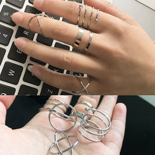 Load image into Gallery viewer, 6pcs / Set of Cute Chic Rings