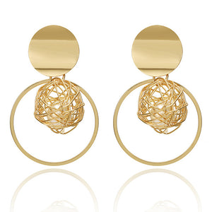 Fashion Gold Earrings