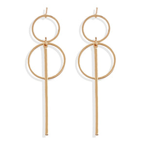 Loop and Rod Earrings