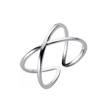 Load image into Gallery viewer, Sterling Silver Cross Rings