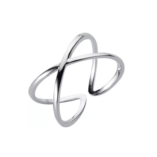 Sterling Silver Cross Rings