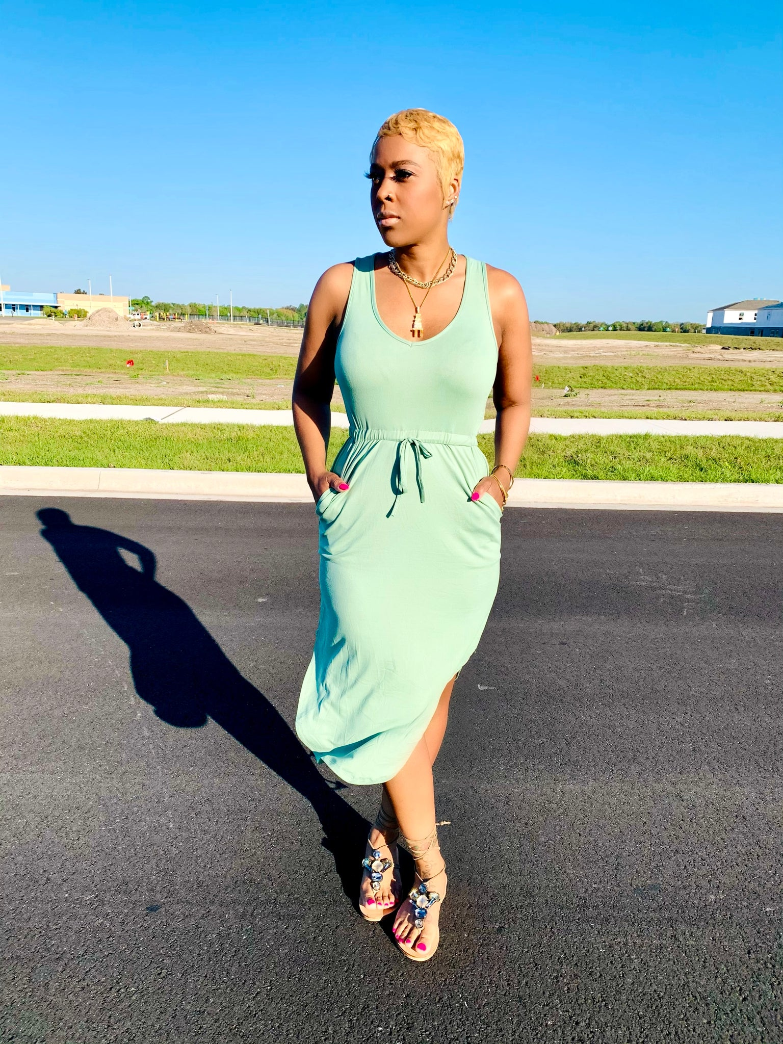 Cool Mint | Dress