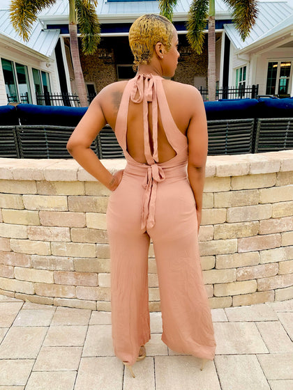 Killing Them Softly | Taupe Jumpsuit (2 Colors)