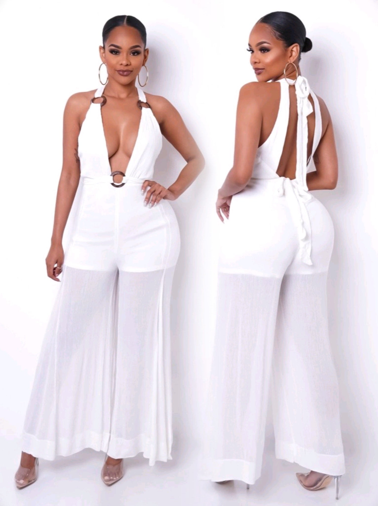 Killing Them Softly | White Jumpsuit (2 Colors)