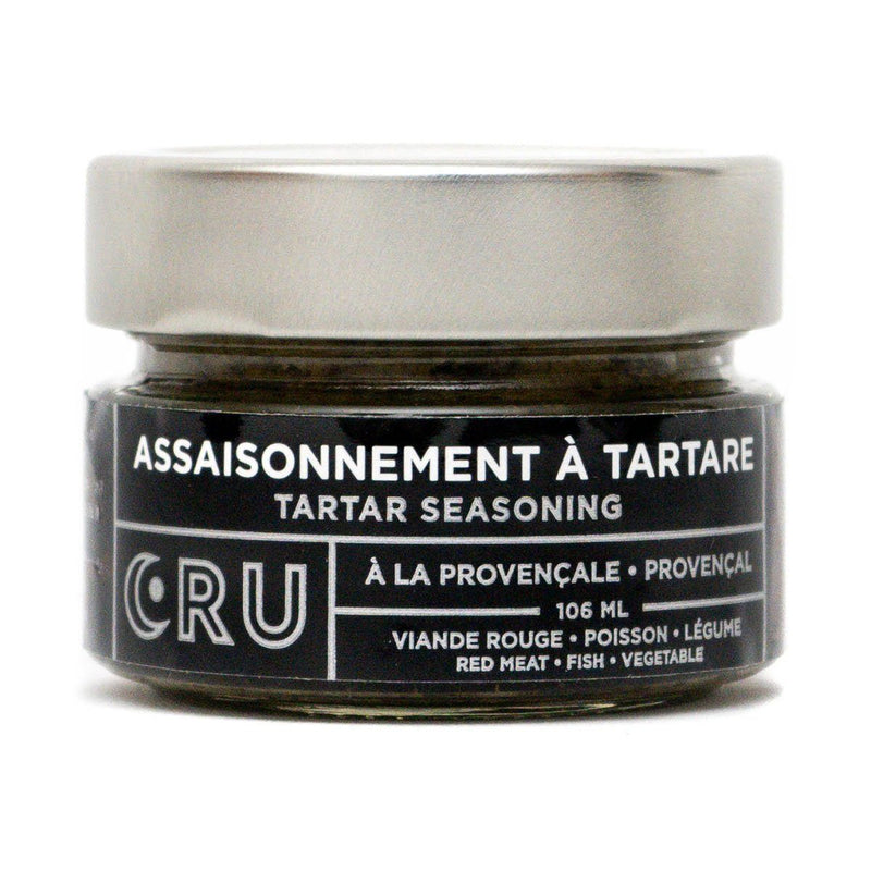 CRU Assaisonnement à Tartare Version Provençale assaisonement CRU CRU 106 ml