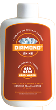 Load image into Gallery viewer, Diamond Shine Hard Water is a professional cleaner designed to clean all of your hard water stains. Great on glass windows, tile, chrome and brass.