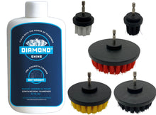 Load image into Gallery viewer, Diamond Shine Shower & Tub Cleaner / Drill Brush Combo Set